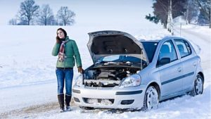 Car Winter Breakdown