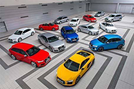 Audi Car Range