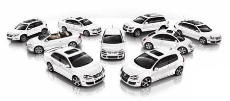 VW Car Range